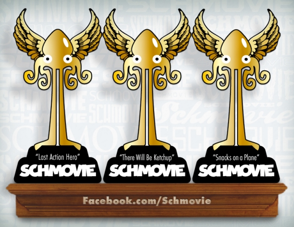 Congratulation to the inaugural SCHMOVIE winners: David Robinson, Patrick McInerney and Kerry Baker Gala!