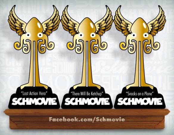 Congratulation to the inaugural SCHMOVIE winners: David Robinson, Patrick McInerney and Kerry Baker Gala!