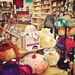 Hey... look who's getting cozy at Exit9 Gift Emporium in Brooklyn!