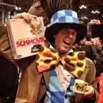 """""""Schmovie makes the perfect unbirthday gift! Or not! Whatever! I'm wearing a hat."""""""