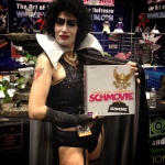 It's the pelvic thrust that really dries them insane. Let's play Schmovie again! #nycc #nycc14