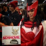 We had a magical time meeting the Scarlet Witch. #nycc #nycc14