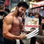 Wolverine turned Comic Con into a gun show. #Nycc #nycc14 #wolverine #logan