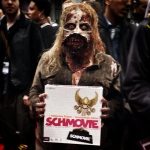 Zombies eat brains... but they play schmovie! #nycc14 #nycc