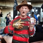 Oh the horror! Freddy Krueger kills at #Schmovie!