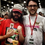 Judah Friedlander, The World Champion... soon to be Schmovie World Champion.