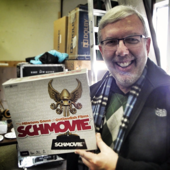 We hope Leonard Maltin gives Schmovie 4 schtars!