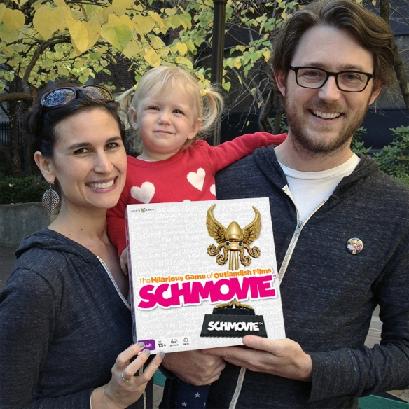 Schmovie co-creator, Sara Farber, talks to Puzzle Nation about being a writer & designer for toys & games: from Elmo... to SpongeBob... to SCHMOVIE!