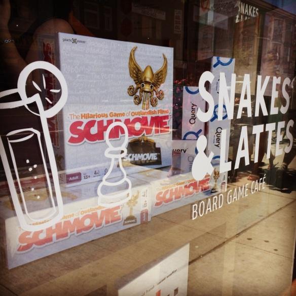 Schmovie Snakes & Lattes